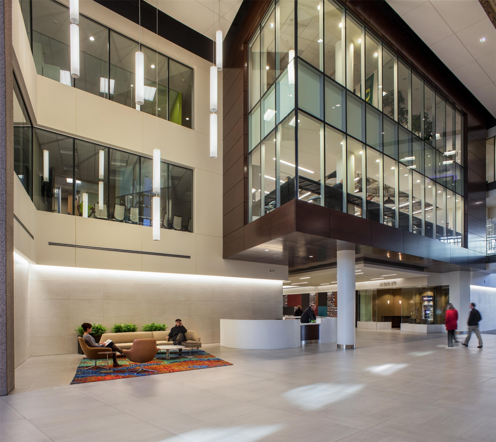 Us Bancorp Plaza Renovation Gbd Architects Portland Oregon